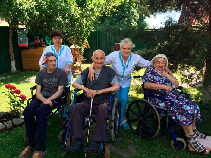 санаторий для пожилых в Елизаветской