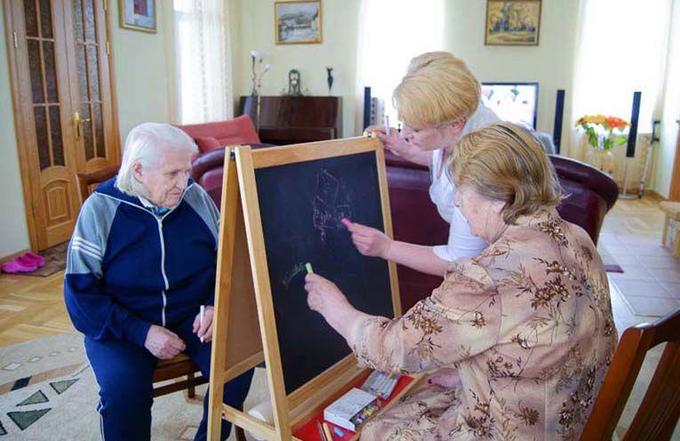 занятия для пожилых людей
