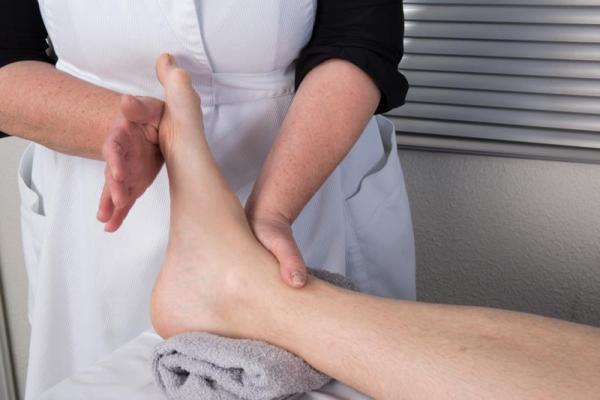 массаж стопы после перелома