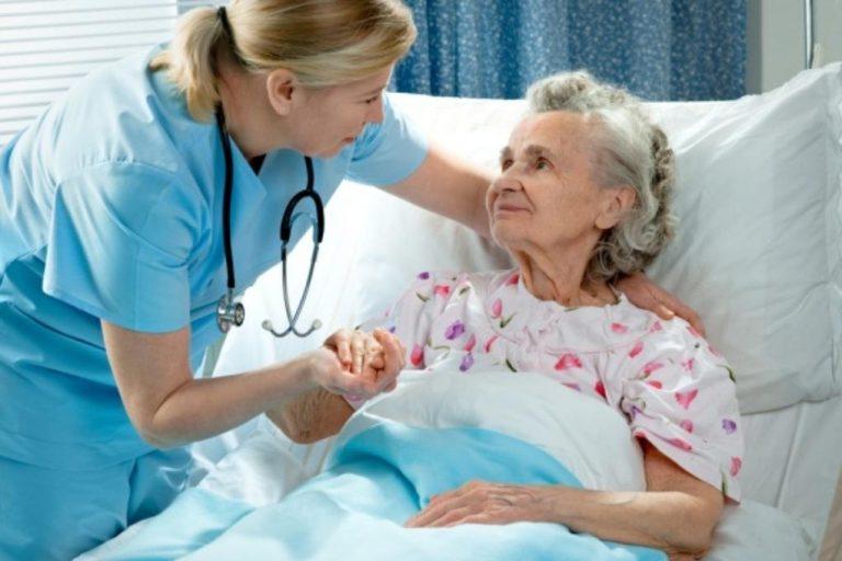 осмотр лежачего пенсионера
