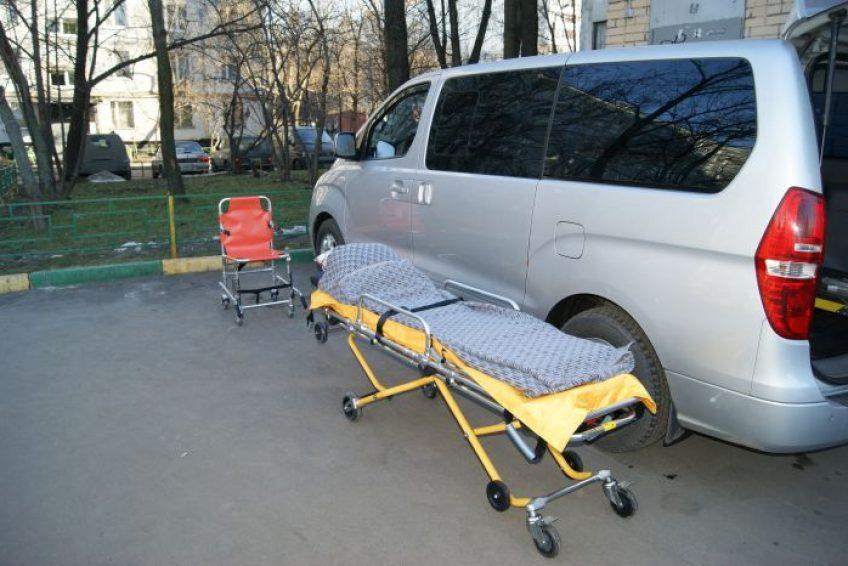 перевозка на автомобиле больных