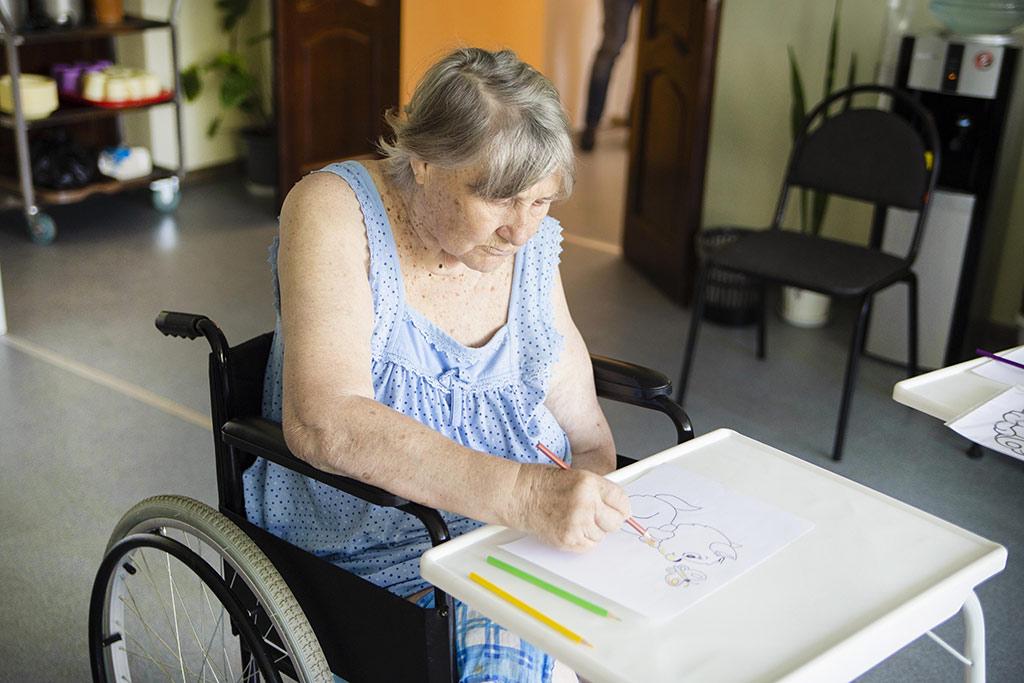 занятие для бабушки